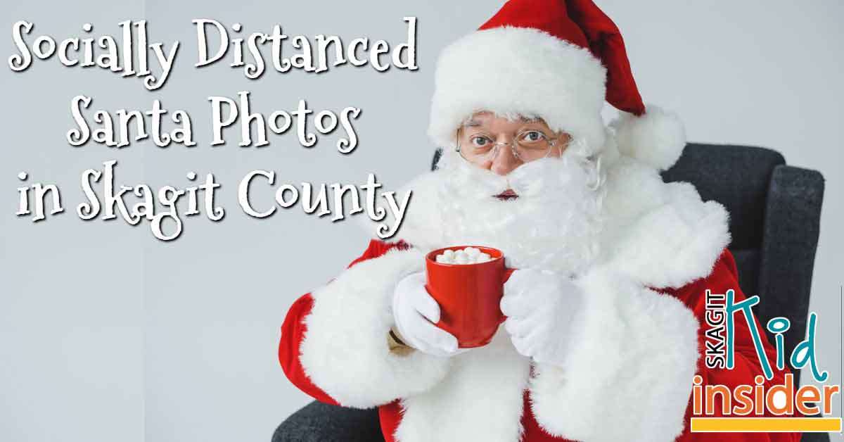 Socially Distanced Santa Photos Skagit