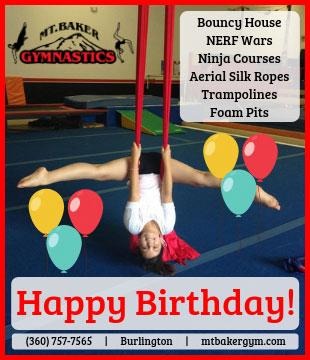 Mt Baker Gymnastics Birthday Parties 2